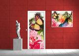 Abstract Door Mural Photo Wallpaper 405VET_