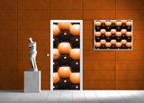 Abstract Door Mural Photo Wallpaper 500VET_