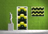 Abstract Door Mural Photo Wallpaper 503VET_