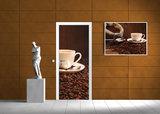Sack Full of Coffee Beans Door Mural Photo Wallpaper 291VET_