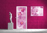 Flowers Flower Floral Door Mural Photo Wallpaper 149VET_