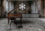 Industrieel met Piano Fotobehang 12658P8_