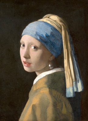 Mauritshuis Johannes Vermeer, Girl with a Pearl Earring 1665 MH1 (FREE Glue Included!)