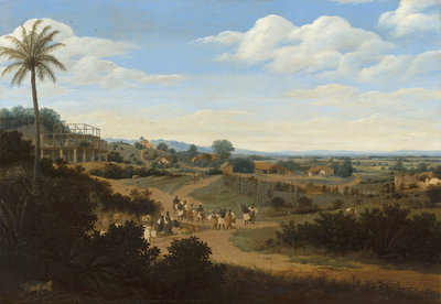 Mauritshuis Frans Post, Brazilian Landscap 1655 - 1660 MH4 (FREE Glue Included!)