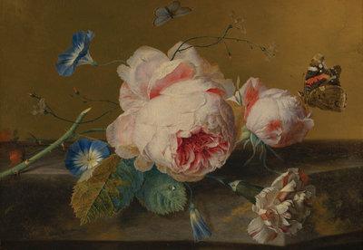 Mauritshuis Jan van Huysum, Flowers MH5 (FREE Glue Included!)