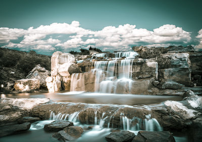 Waterfall Photo Wall Mural 13360P8