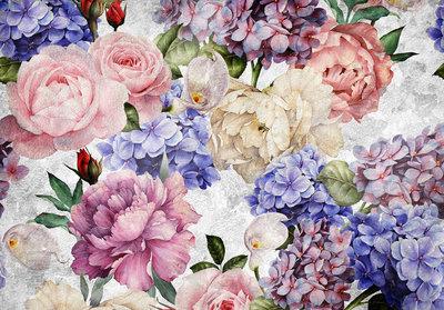 Flowers Rose Art Photo Wall Mural 13513P8