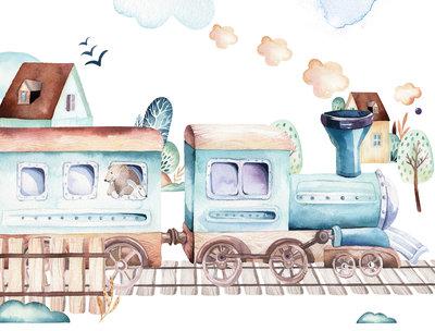 Rail Trip Photo Wall Mural 13526P8