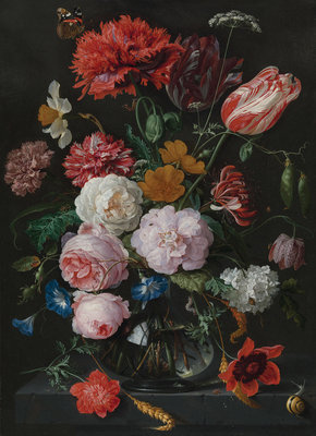 Rijksmuseum Flowers Jan Davidsz De Heem RM5 (FREE Glue Included!)