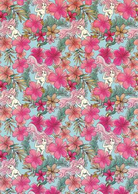 Ariel - Pink Flower DX4-008