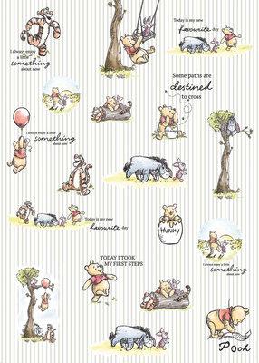 Winnie Pooh - Stripes DX4-001