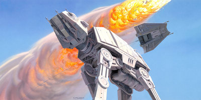 Star Wars Classic RMQ Hoth Battle AT-AT DX10-053