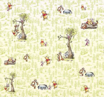 Winnie Pooh Friends DX6-031