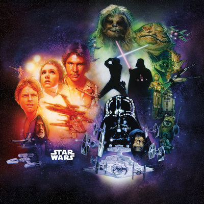Star Wars Classic Poster Collage DX5-044