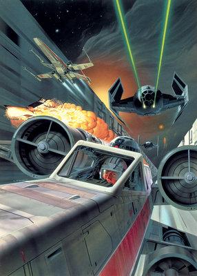 Star Wars Classic Death Star Trench Run DX4-042