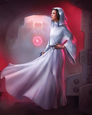 Star Wars Classic Leia DX4-046
