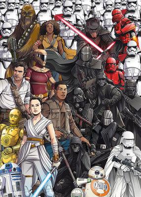 Star Wars Retro Cartoon DX4-075