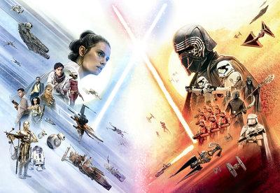 Star Wars Movie Poster Wide 8-4114