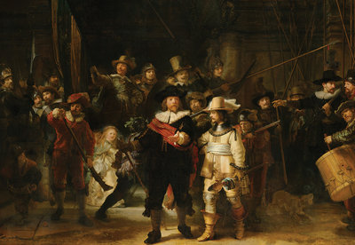 Rijksmuseum The Night Watch Rembrandt van Rijn RM45  (FREE Glue Included!)
