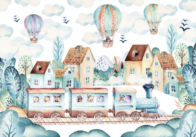 Airballoon Photo Wall Mural 13673P8