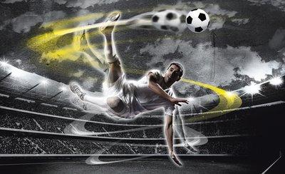 Soccer Photo Wallpaper Mural 2000P8