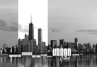 Cities Photo Wallpaper Mural 052P8