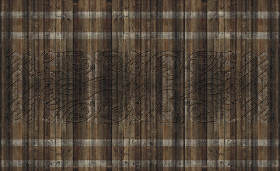 Wood - Stone - Concrete Photo Wallpaper Mural 1199P8