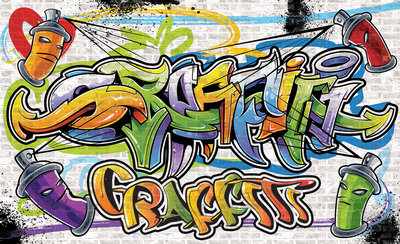 Graffiti Photo Wallpaper Mural 1399P8