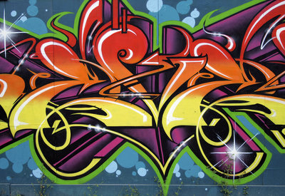 Graffiti Photo Wallpaper Mural 140P8