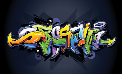 Graffiti Photo Wallpaper Mural 1509P8
