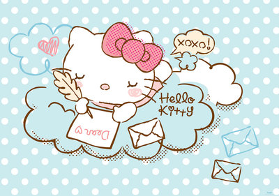 Hello Kitty Photo Wallpaper Mural 1802P8