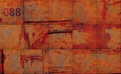 Wood - Stone - Concrete Photo Wallpaper Mural 2695P8