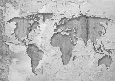 World Map Photo Wall Mural 2819P8