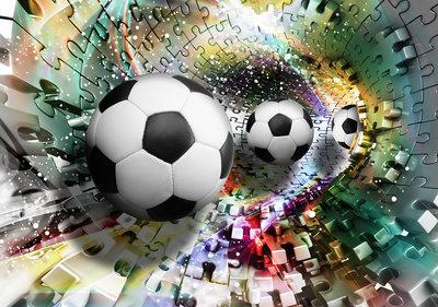 Soccer Photo Wall Mural 3381P8