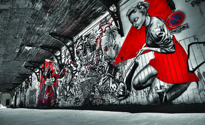 Graffiti Photo Wall Mural 10517P8