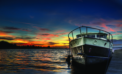 Boat Photo Wall Mural 10520P8