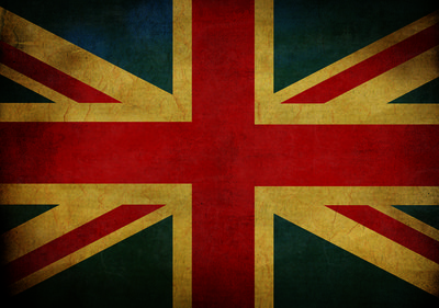 English Flag Photo Wall Mural 10677P8