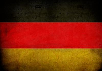 Duitse Vlag Photo Wall Mural 10678P8