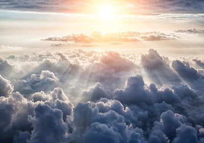 Photo Wall Mural Clouds 10109P8