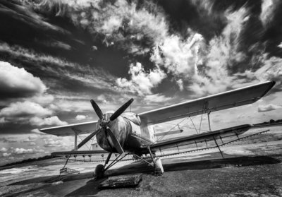 Photo Wall Mural Airplane 11384P8