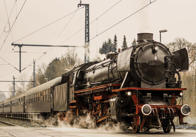 Photo Wall Mural Train 11388P8