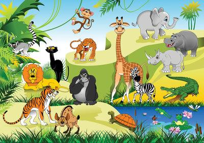 Photo Wall Mural Zoo 11411P8