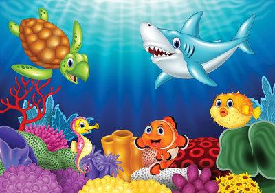 Photo Wall Mural Underwater world 11415P8