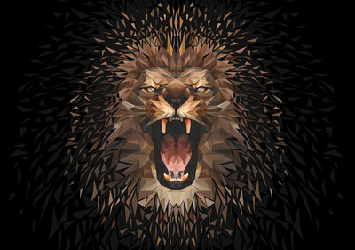 Lion Photo Wall Mural 11559P8