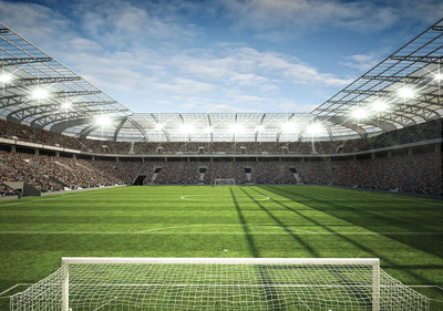 Soccer Stadion Photo Wall Mural 11798P8