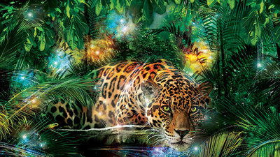 Animals Photo Wallpaper Mural 1333P8