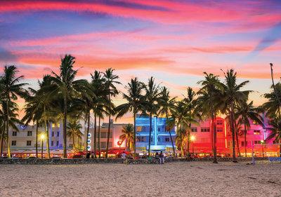 Miami Strip Photo Wall Mural 11756P8