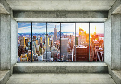 New York City Photo Wall Mural 12118P8