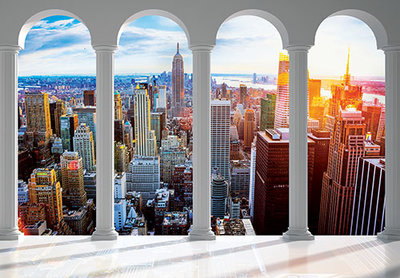 New York City Photo Wall Mural 12117P8