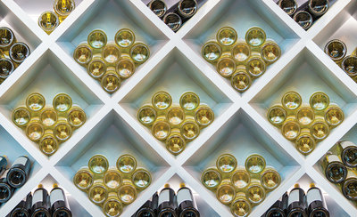 Wine Bottles Photo Wall Mural 12171P8